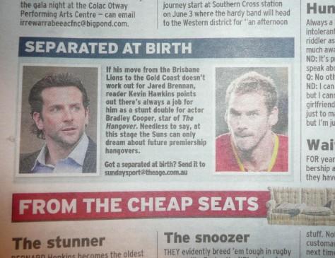 Bradley Cooper vs. Jared Brennan