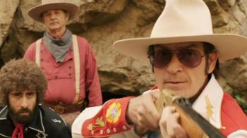 Not even Jason Schwartzman and Bill Murray can save Charlie Sheen's performance