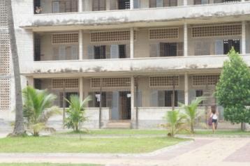 The S-21 Genocide Prison in Phnom Penh