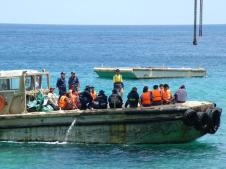 Christmas Island Refugees.