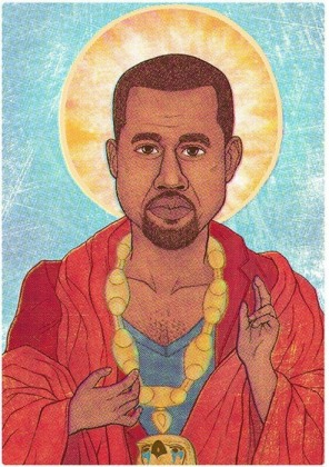 """I know he the most high, but I am a close high"" - Kanye West"